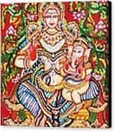 Jaganmatha Canvas Print