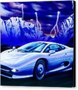 Jaguar 220 Canvas Print