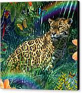 Jaguar Meadow  Variant 1 Canvas Print