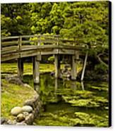 Japanese Garden Tokyo Canvas Print
