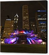 Jay Pritzker Pavilion Chicago Canvas Print