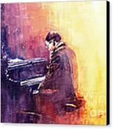 Jazz Herbie Hancock  Canvas Print by Yuriy  Shevchuk