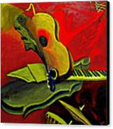 Jazz Infusion Canvas Print