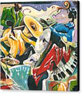 Jazz No. 3 Canvas Print