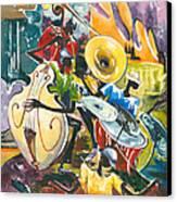 Jazz No. 4 Canvas Print