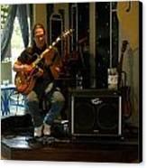 Jazzman Jorge - Limehouse Blues Canvas Print by Shawn Lyte