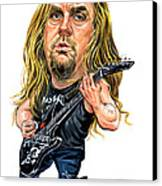 Jeff Hanneman Canvas Print by Art