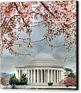 Jefferson Blossoms Canvas Print by Lori Deiter