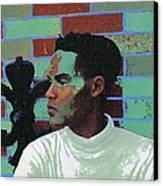 Jeffrey Burton Fisher 1989 Canvas Print by Feile Case