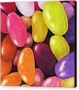 Jelly Beans Canvas Print by Anastasiya Malakhova