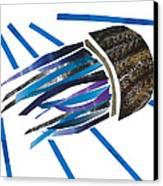 Jellyfish Canvas Print by Earl ContehMorgan