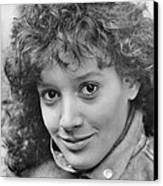 Jennifer Beals In Flashdance  Canvas Print by Silver Screen