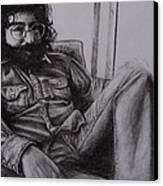 Jerry Garcia In '72   Canvas Print by Leandria Goodman