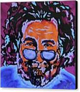 Jerry Garcia-it's A Me Thing Canvas Print by Bill Manson