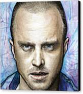 Jesse Pinkman - Breaking Bad Canvas Print by Olga Shvartsur