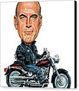 Jesse Ventura Canvas Print by Art