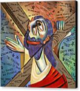 Jesus Canvas Print by Anthony Falbo