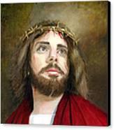 Jesus Christ Crown Of Thorns Canvas Print