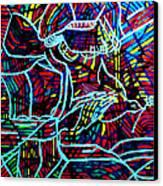 Jesus Christ - King Of Peace Canvas Print by Gloria Ssali