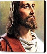 Jesus Christ Canvas Print by Munir Alawi