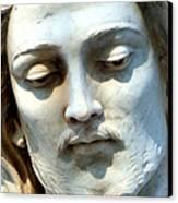 Jesus Statue Canvas Print by David G Paul