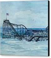 Jetstar Canvas Print by Anita Riemen