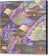 Jetstream Canvas Print by Sarah Porter