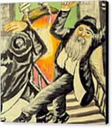 Jewish Holiday  Canvas Print by Mimi Eskenazi
