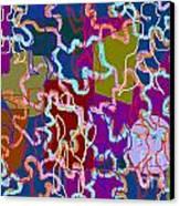 Jigsaw Canvas Print by Meenal C