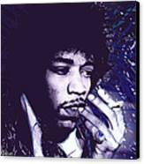 Jimi Hendrix Purple Haze  Canvas Print