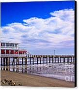 Jimmy's Pier Canvas Print