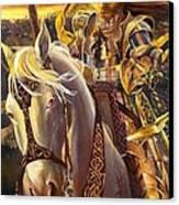 Joan D'arc Canvas Print by Lynette Yencho