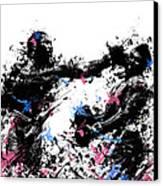 Joe Frazier Canvas Print by Bekim Art