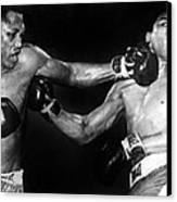 Joe Frazier Vs. Muhammad Ali Canvas Print by Everett