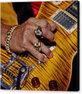 Joe Perry - Aerosmith Canvas Print by Don Olea