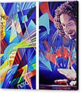 Joel And Andy Canvas Print by Joshua Morton