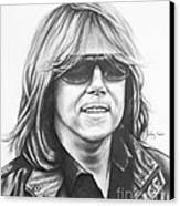 Joey Tempest Canvas Print
