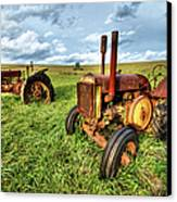 John Deere Tractors I - Blue Ridge Canvas Print