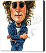 John Lennon Canvas Print by Art
