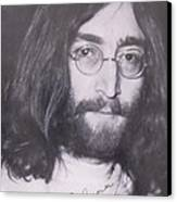 John Lennon Canvas Print by Donna Wilson