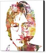 John Lennon Canvas Print by Mike Maher