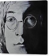 John Lennon Canvas Print by Stefon Marc Brown
