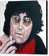 John Lennon Canvas Print by Tom Roderick