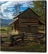 John Oliver Cabin Cades Cove Tn Canvas Print by Paul Herrmann