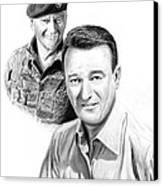 John Wayne Canvas Print by Peter Piatt