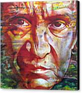 Johnny Cash Canvas Print by Joshua Morton