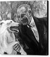 Johnson And Blanco Canvas Print by Martha Suhocke