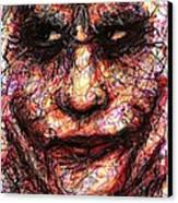 Joker - Face II Canvas Print