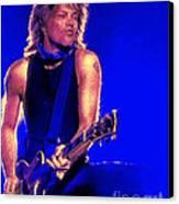 Jon Bon Jovi Canvas Print by John Travisano
