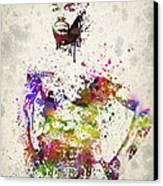 Jon Jones Canvas Print by Aged Pixel